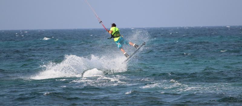 La tecnica del kitesurf - Il pop